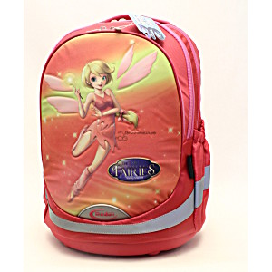 Школьный рюкзак – ранец Modan Fairies coral