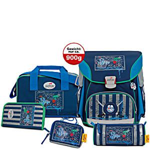 Школьный ранец DerDieDas X-LIGHT для первоклассника с наполнением Сокровища Пирата