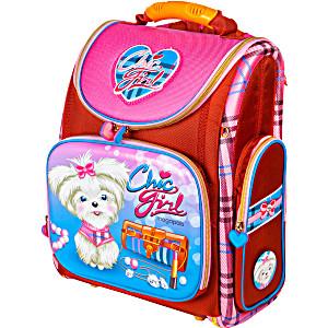 Школьный рюкзак – ранец HummingBird K98 Chic Girl с мешком для обуви