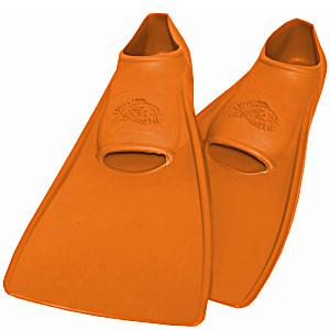 Ласты ProperCarry детские закрытая пятка для бассейна резиновые размер – 26 оранжевые ПРОПЕРКЭРРИ